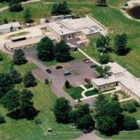 Aerial view of USDA Biological Control of Insects Research facility in Columbia, MO